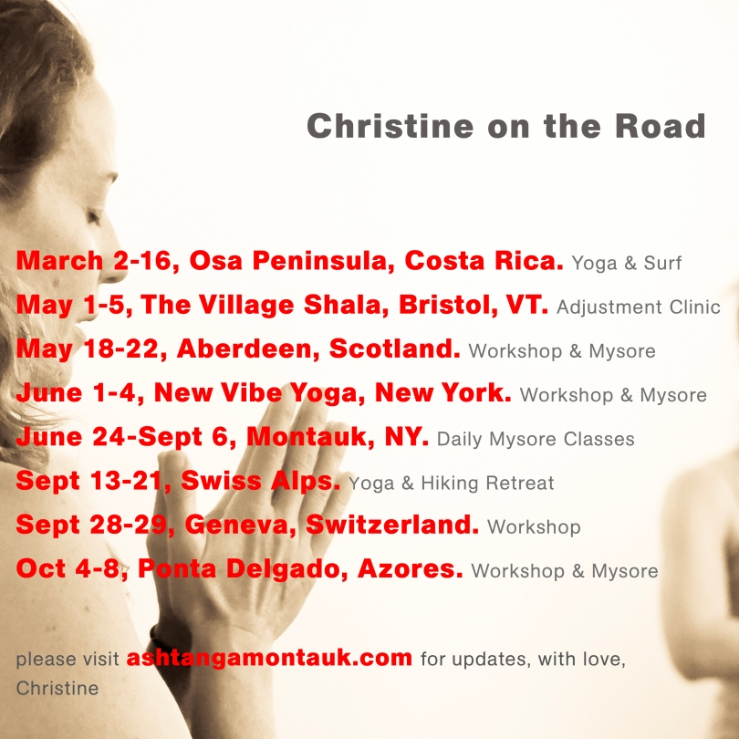 christine on the road new2
